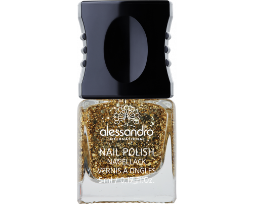 Lak za nokte IBIZA SPIRIT TOP COAT Golden Spirit  5 ml