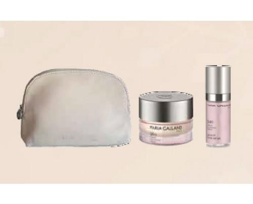 Lumin'Eclat Kit (340 Lumin'Eclat serum 30 ml + 360 Lumin'Eclat cream 50 ml + kozmetička torbica)